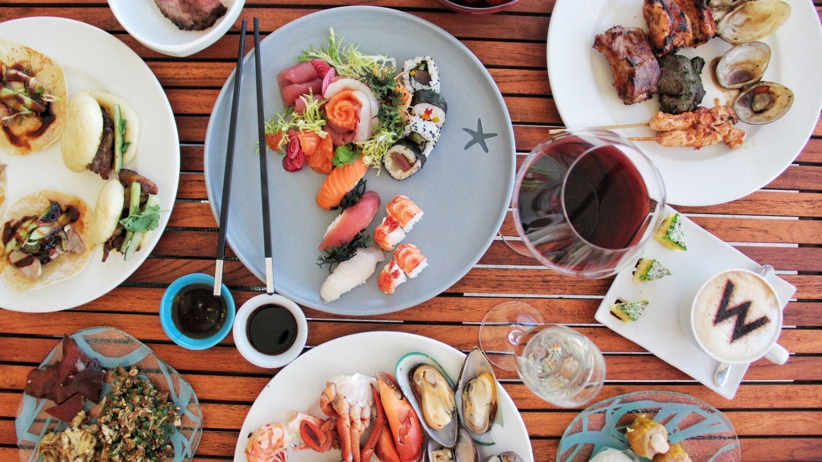 At W Bali Seminyak S Glamorous Yet Casual Beachside Seafood Restaurant Starfish Bloo Pan Asian Flavours Meet Western Essences From Chef Curated Tasting